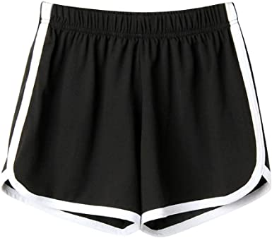Summer Women Girls Casual Sports Exercise Hot pants Loose Shorts Pants One Size