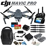 DJI Mavic Pro Collapsible Quadcopter: Includes DJI Shoulder Bag, 2 Intelligent Flight Batteries, Car Charger, Spare Propellers, SanDisk 64GB Extreme MicroSD Card and more… Review