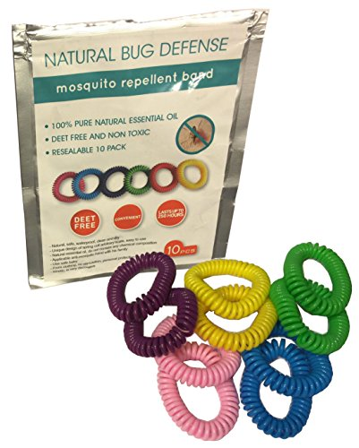 10pk-All-Natural-Bug-Defense-Mosquito-Repellent-Bracelets-Keep-Pests-Away-for-Up-to-250-Hours-Deet-Free-Natural-Essential-Oils-No-Spray-No-Mess-Bold-Colors-One-Size-for-Adults-and-Kids