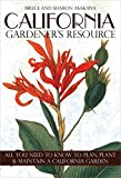 img - for California Gardener's Resource book / textbook / text book