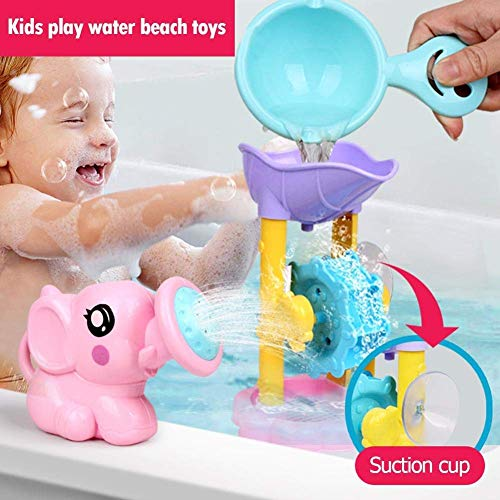 Spielen Kids Water Beach Toy Badezimmer Interactive Duschkopf 3 teiliges Set zufällige Farbe