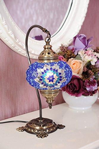 Turkish Mosaic Lamp, Ceiling Pendant, Moroccan Light Mosaic