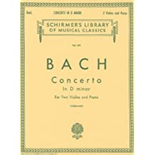 Concerto in D minor: Score and Parts