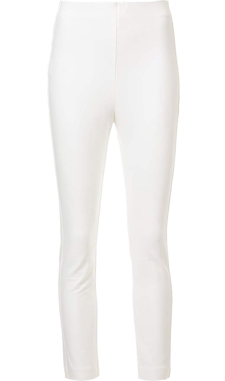 Derek Lam 10 Crosby Stretch Tailoring Leggings in Soft White