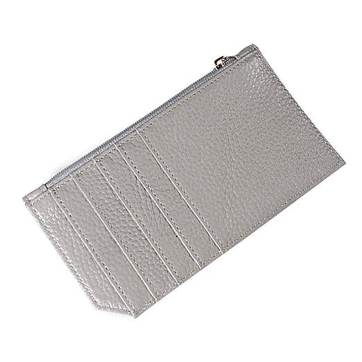 Topdo - 1 cartera de piel para tarjetas de crédito, monedero ...