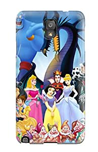 Flexible Tpu Back Case Cover For Galaxy Note 3 - Disney 7751419K33261935