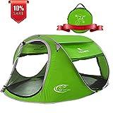 ZOMAKE Pop Up Tent 3 4 Person, Beach Tent Sun Shelter...