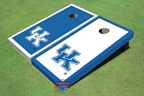 University of Kentucky Alternating Border Cornhole Boards by All American Tailgate (Image #2)