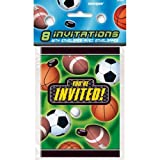 Action Sports Invitations, 8ct