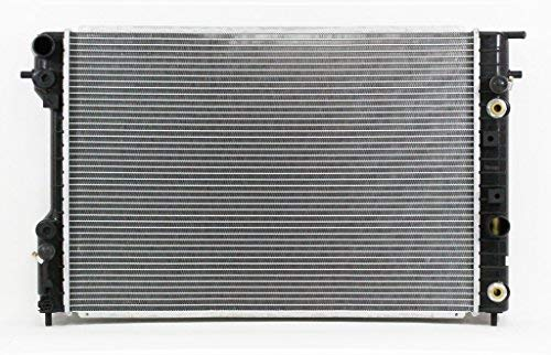 Radiator - Pacific Best Inc For/Fit 1881 97-99 Cadillac Catera V6 3.0L AT Plastic Tank Aluminum Core 1Row