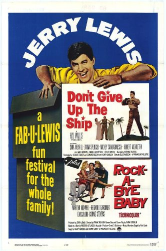Furniture Baby Rockabye (Don't Give Up The Ship/Rock-A-Bye Baby Poster Movie 11x17 Jerry Lewis Dina Merrill Diana Spencer)