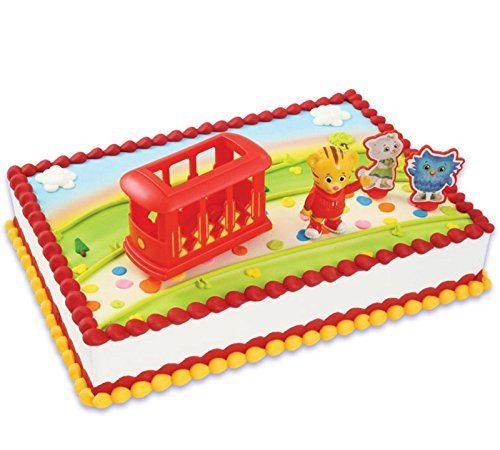 Jack2400 - Daniel Tiger's Neighborhood Cake Topper, Includes 1 Cake Topper]()