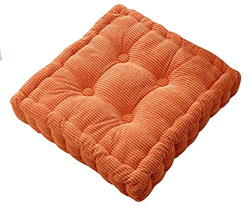 KAMA BRIDAL Tufted Thick Chair Pad Seat,Square Boosted Pillow Cushion,Ideal for Home,Office,School,Travel,15
