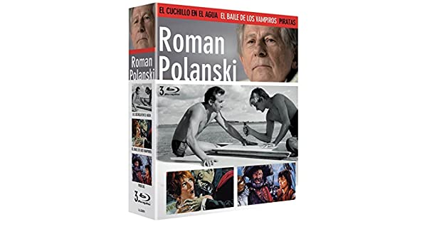 Amazon.com: Roman Polanski Set - El Cuchillo en el Agua + El ...