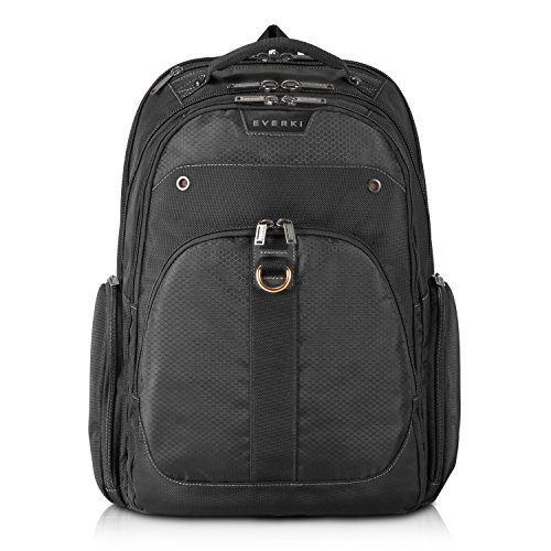 Everki EKP121-1 Atlas Checkpoint Friendly 13-Inch to 17.3-Inch Laptop Backpack Adaptable Compartment (EKP121)