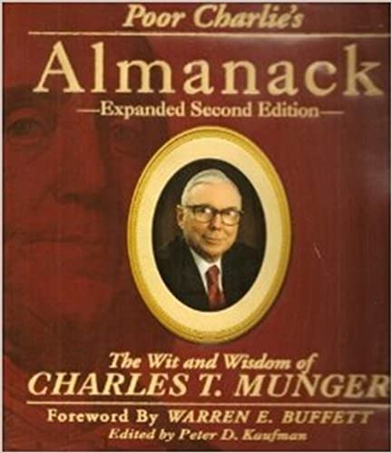 image for Poor Charlie's Almanack: The Wit and Wisdom of Charles T. Munger