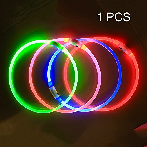 Collar Rechargeable glowing collar fashion product image