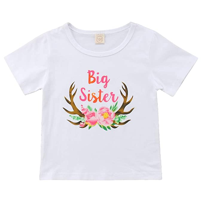 Emmababy Big Sister Little Sister - Playera 3089a35efb5ec
