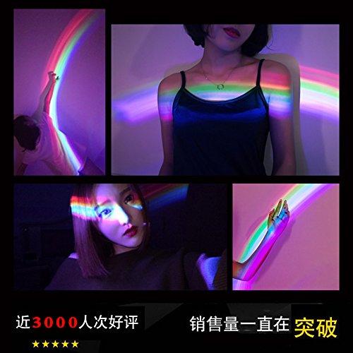 Proyector de Luz Arco Iris Creativo Cielo romántico dormitorio ...