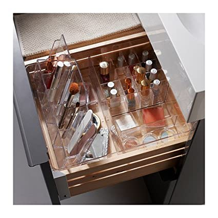 Amazoncom Ikea Godmorgon Makeup and Jewelry Organizer Clear
