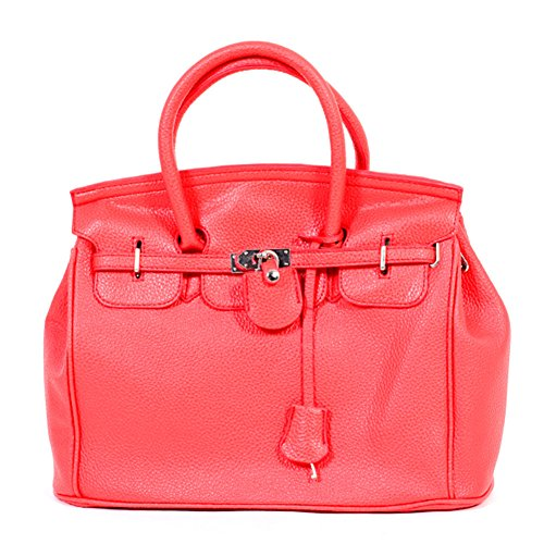 SymWell(TM) Hotsell Celebrity Girl Faux Leather Handbag Tote designer shoulder bag Casual Career Purse 8 colours #5318
