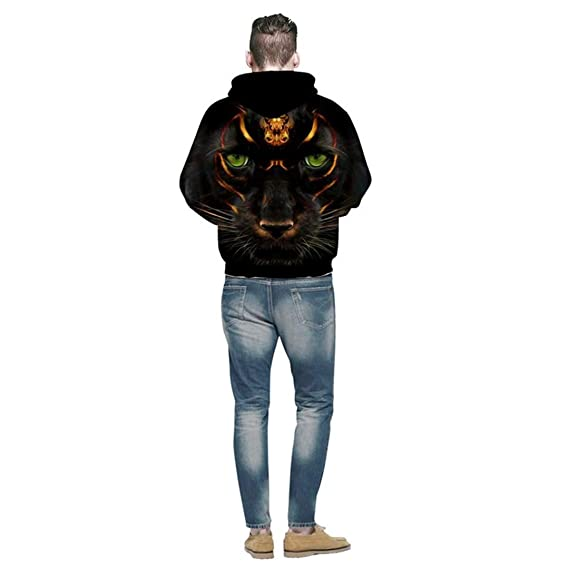 Amazon.com: Black Panther 3D Men Women Hoody Pullover Autumn Tracksuit Hooded Tops Homme Jumper Streetwear wear: Clothing