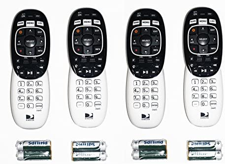 Lot of 2 two New DIRECTV RC73 RF//IR Remotes W// Batteries DTV