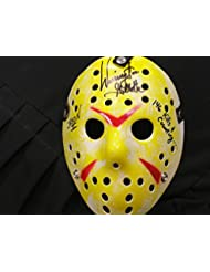 WARRINGTON GILLETTE Signed 146 KILLS Hockey Mask Jason Voorhees Friday the 13th Part 2 Autograph