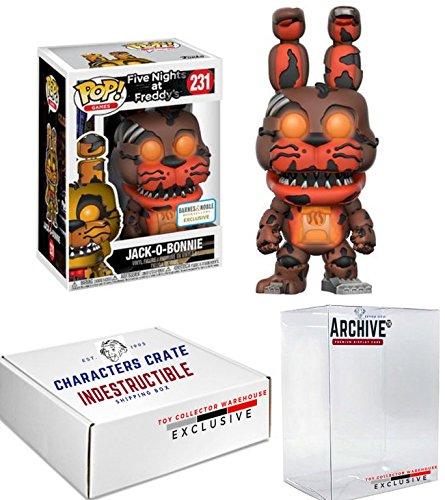 Funko Pop! Jack-O-Bonnie Halloween Glow in the Dark, Five Nights At Freddy's Exclusive, Concierge Collectors (Cupcakes Halloween Jack)