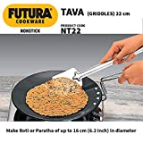 Futura Non-Stick Concave Tava Griddle