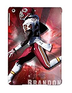 For Ipad Air Protective Case, High Quality For Ipad Air Brandon Flowers Kansas City Chiefs Player Skin Case Cover by supermalls