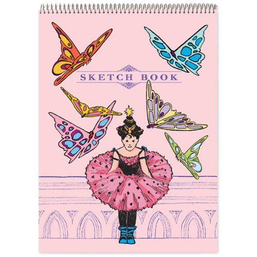 eeBoo Princess & Butterflies Sketchbook