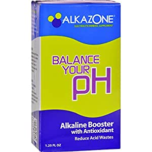Alkazone Alkaline Booster Drops with Antioxidant, 1.25 Fluid Ounce