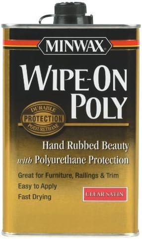 1//2 Pint... Minwax 233334444 Minwaxc Polycrylic Water Based Protective Finishes