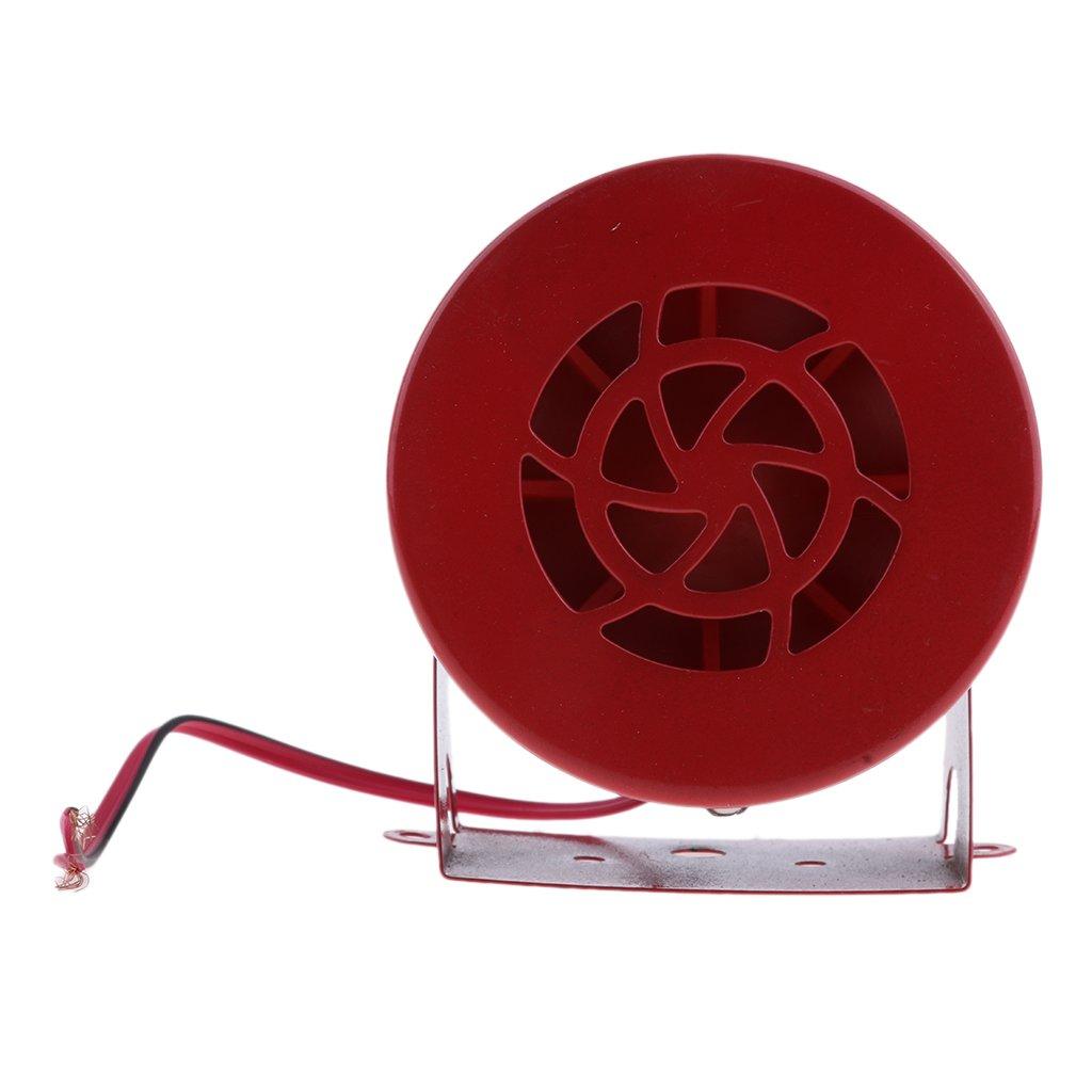 Sharplace Alarma Amonestadora 12V-24V 110dB De La Copia De Seguridad Resistente Resistente Con El Tono Estupendo Del Beeper Para Los Veh/ículos Pesados de Van Car Del Cami/ón
