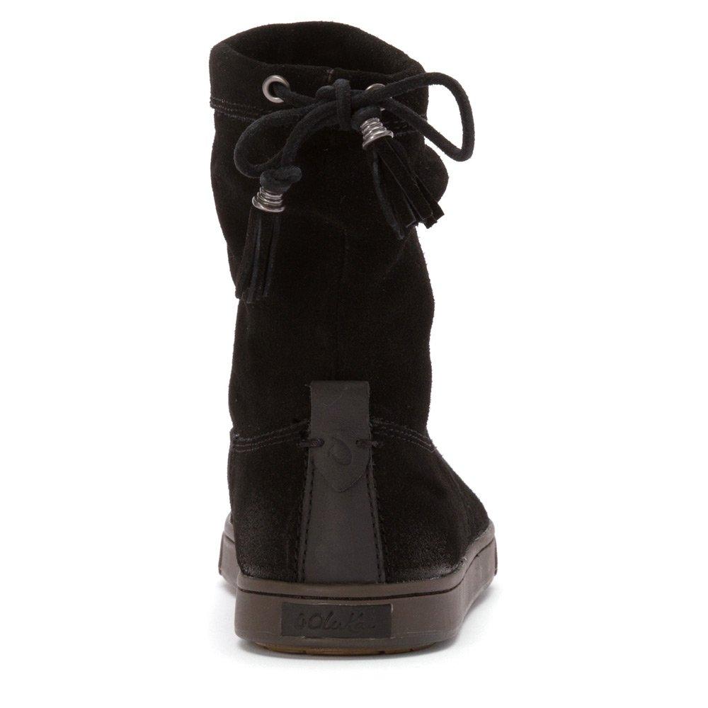 OLUKAI Kapa Moe Boot - Women's B00PSMSKPM 8 B(M) US|Black/Black