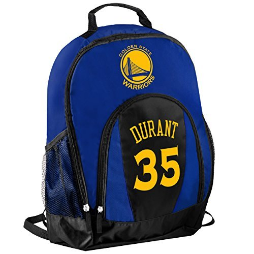 TBFC Golden State Warriors Primetime Backpack School Gym Bag - Kevin Durant #35 by TBFC