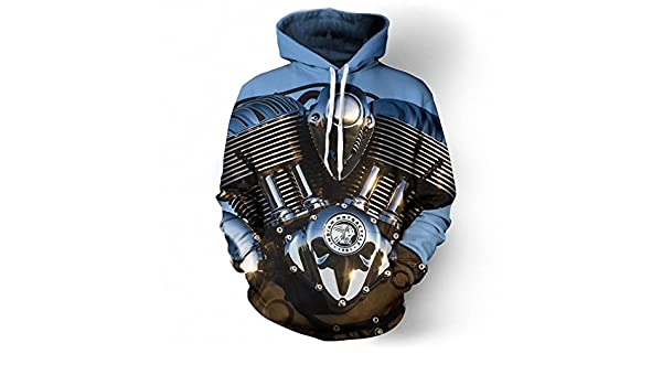 Amazon.com: Amazing Motorcycle Art 3D Hoodies Hoodie Men Women NEW New Fashion Hooded Tracksuits Tops Pullovers Sweatshirt Dropship hoodie XL: Clothing