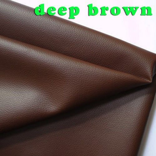 Small Lychee Pattern PU Leather Faux Leather Fabric Sewing Artificial leather Upholstery Car interior 54