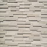 Koni Stone Citali Series Papel 7 sq. ft. Panel 6 in. x 24 in. x 0.40 in. - 0.80 in. Natural Stone