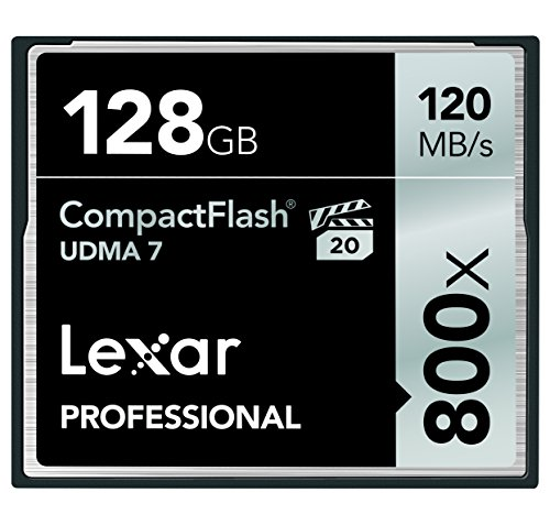 Lexar LCF128CRBNA800 Professional VPG 20 CompactFlash