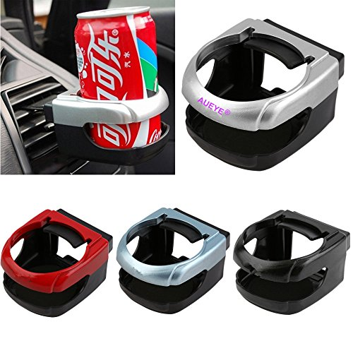 Car Drink Holder Expander Aueye® Automotive Console Cup Holder Clip-On Auto Truck Vehicle Air Condition Vent Outlet Can Drink Saver Water Bottle Coffee Cup Mount Interior Organizer Stand Accessories