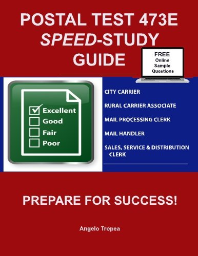 Postal Test 473E Speed-Study Guide