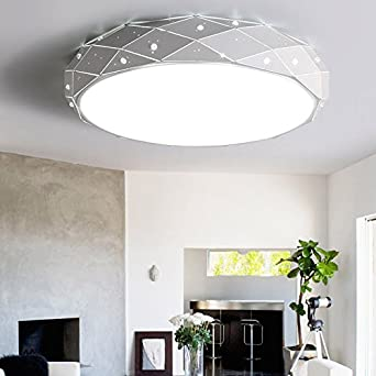 Osraed LED Deckenleuchte, rund Wohnzimmer Licht, einfache und ...