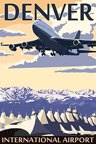 Denver, Colorado - Airport View