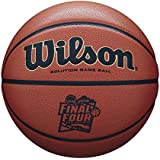 Wilson Sporting Goods NCAA Men's Final Four Championship Game Ball, Orange Microfiber