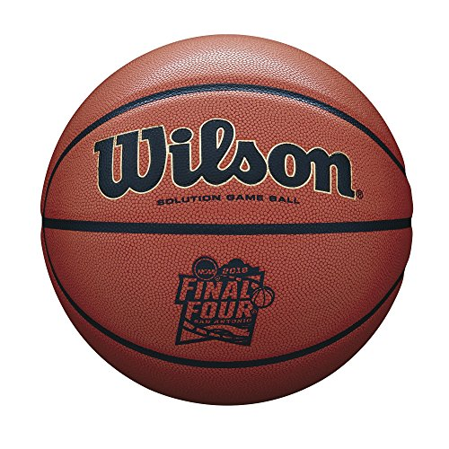 Wilson Sporting Goods NCAA Men's Final Four Championship Game Ball, Orange Microfiber by Wilson