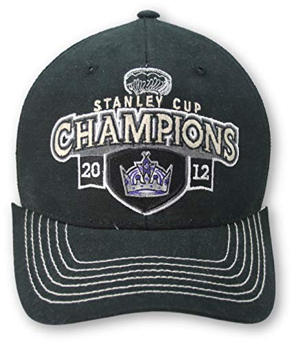 Reebok Los Angeles Kings Stanley Cup Champions 2012 Hat Black