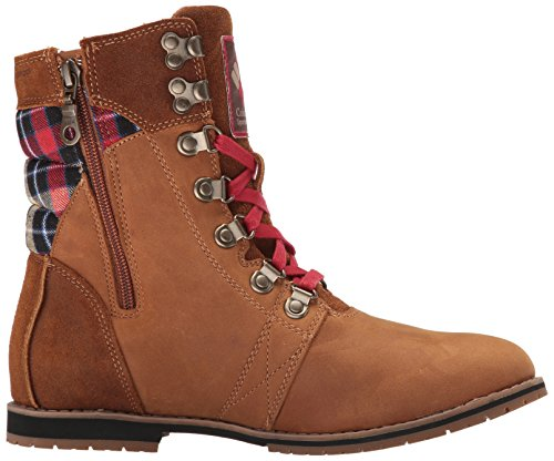 Columbia Womens Twentythird Ave Waterproof Mid Print Boot Elk, Rocket