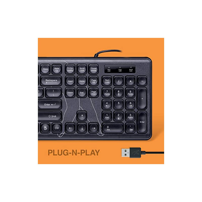 Best Fingers SuperClicks Wired Multimedia USB Keyboard Online India